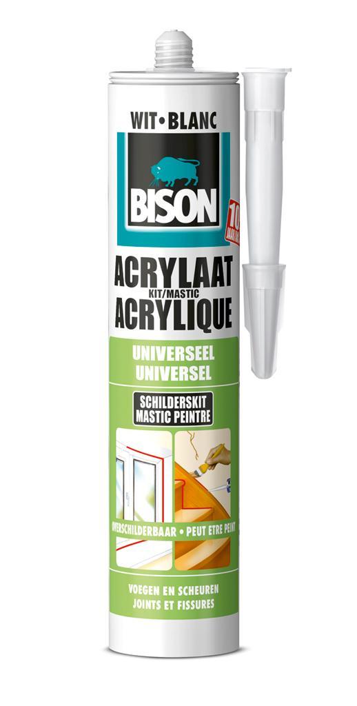 BS acrylaatkit wit 310 ml