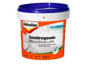 AB SNELDROGENDE MUURVULLER  1K