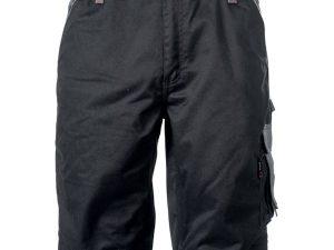 Korte broek zwart-grijs