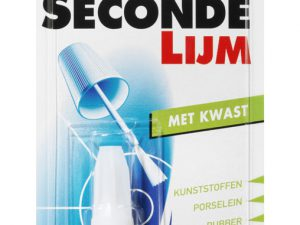 BS secondelijm met kwast 5 gr
