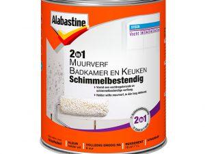 AL muurv. 2in1 badk/keuken 1 lt