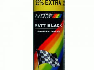 Motip mat zwart