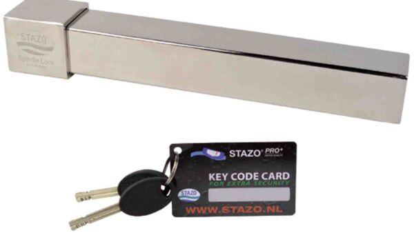 Stazo spindle lock