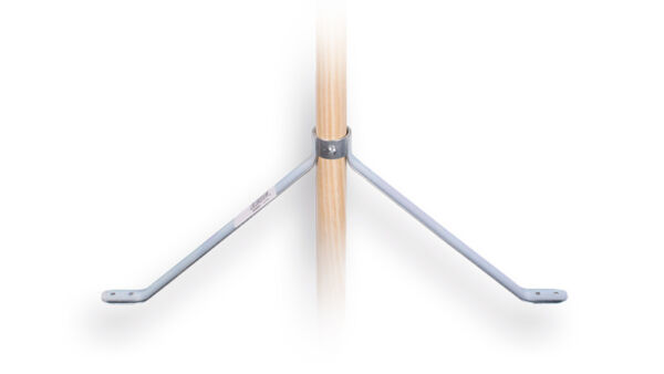 Stokhouder  45cm  breed 19 cm hoog