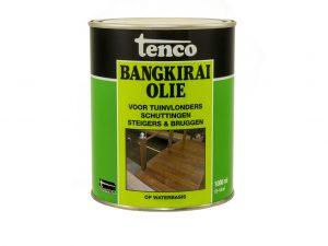 TO bangkirai olie (acryl) 1 lt