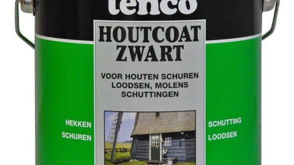 TO houtcoat zwart 2.5 lt