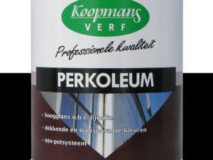 Perkoleum Zijdeglans 239 zwart 750 ml.