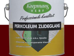 Perkoleum zijdeglans 13 Wijnrood 2