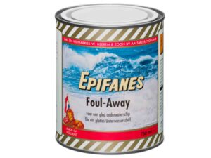 EPIFANES FOUL-AWAY DONKERBLAUW 750 ML.