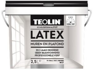 Teolin Latex Muren en Plafond wit 2