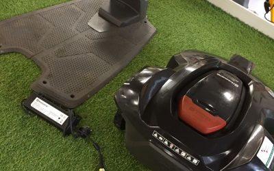 Deze Husqvarna 320 AC Robotmaaier is gebruikt