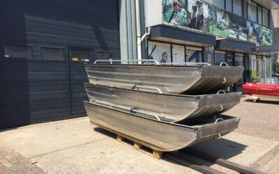 Tweedehands Qwest F301 aluminium boten